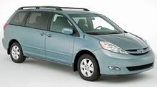 Van: 2010 Toyota Sienna (Bill Petro/Toyota)
