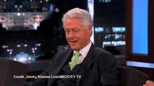 Bill Clinton on Jimmy Kimmel Live! (YouTube)