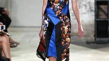 A model walks the runway at the Proenza Schouler Spring 2013 fashion show on September 12, 2012 in New York City (Peter Michael Dills/Getty Images)