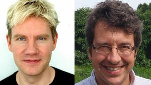 Bjorn Lomborg (left) and George Monbiot will face each other in the 2009 Munk Debates