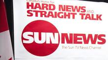 The Sun News logo is seen in this file photo. Executives warned Thursday that the channel faces a 'death sentence' unless the CRTC grants it mandatory carriage. (NATHAN DENETTE/THE CANADIAN PRESS)