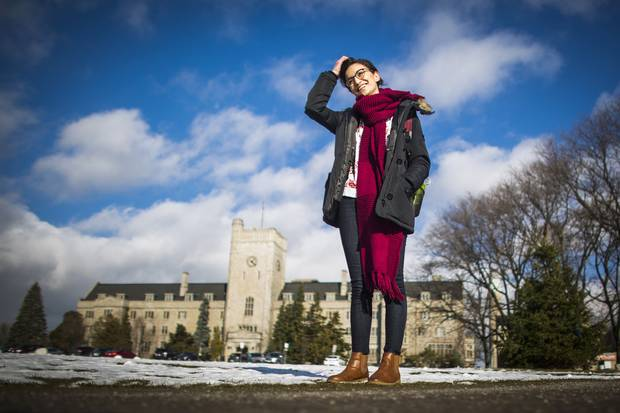 Sara Kuwatly, 21, is studying biology at the University of Guelph.