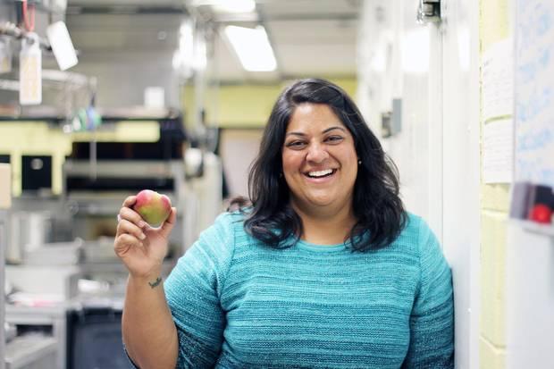 oshna Maharaj is the executive chef at the Gladstone Hotel.