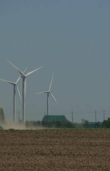 DOCUMENTARY Doc Zone (CBC, 9 p.m.) Have you ever driven by a rural area populated with spinning wind turbines and remarked how peaceful it looks? Guess again. The new documentary Wind Rush examines the ongoing battle between wind-farm advocates and opponents in southern Ontario. As part of the government's plan to replace coal-fired generation plants with green wind energy, the farms have sprung up in locales like Wolf Island, Amaranth and Bruce County and citizens in those communities are not happy about it. Some residents liken the noise to a jet upon liftoff, which in turn has lead to chronic sleeplessness for many along with diabetes, depression and heart disease. The filmmakers visit southwestern Alberta, where wind farms have been operating for the past two decades, and takes a side trip to Denmark, which has long been considered the working model country for wind-energy programs. Watch and learn.