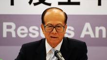 Hong Kong's Li Ka-Shing (LAURENT FIEVET)