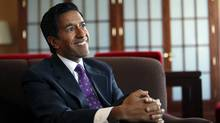 Sanjay Gupta is CNN's chief medical correspondent and author of a new novel, Monday Mornings. (Deborah Baic/Deborah Baic/The Globe and Mail)
