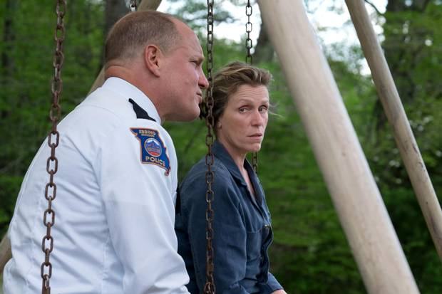 Woody Harrelson and Frances McDormand as