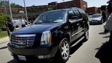 Toronto Mayor Rob Ford's Cadillac Escalade. (Moe Doiron/The Globe and Mail)