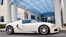2010 Bugatti Veyron Credit: Michael Bettencourt for The Globe and Mail