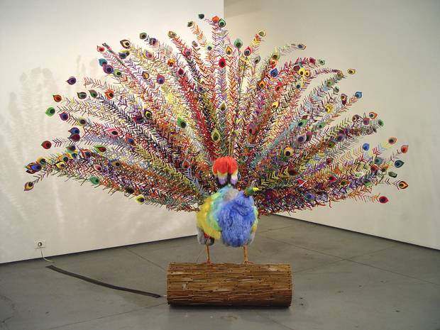 A decade ago, Johnston Foster's sculpture The Fowl Play was included in 21c's inaugural exhibition at its first hotel museum in Louisville, Ky.