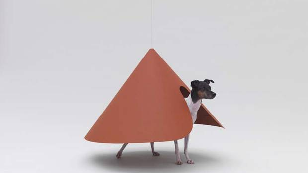 Kenya Hara, the art director of Japanese retailer Muji, is behind Architecture for Dogs, which has solicited works from high-end designers and architects around the world meant for man's best friend. They include Japan's Hiroshi Naito, professor emeritus at the University of Tokyo, and Munich-based Konstantin Grcic, winner of Design Miami's designer of the year award in 2010. Here are 13 of their creations, designed to bridge the gap between architecture created for humans and what works better for Fido. Shown here is architect Haruka Misawa's creation for the terrier. (Hiroshi Yoda)