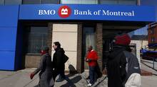 A Bank of Montreal or BMO location in Toronto. (Deborah Baic/The Globe and Mail)
