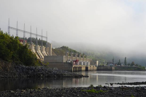 The Mactaquac Dam near Fredericton was added in 1965, and dramatically changed the flow of the Saint John River, cutting salmon off from their spawning grounds.