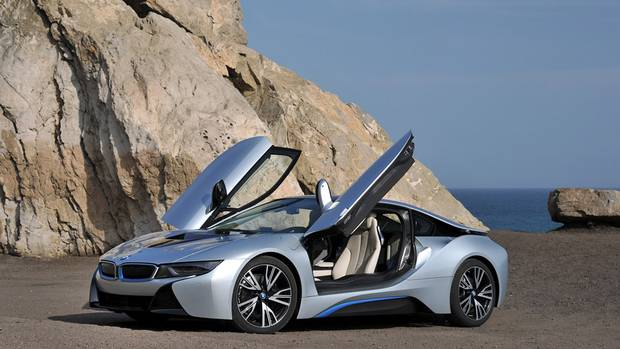 The BMW i8 has a 0–100 km/h sprint time of 4.4 seconds. IBMW Canada estimating fuel economy to be 2.8 litres/100 km. (BMW)