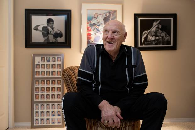 Don Clarke has many stories from his time as the original manager of Northlands Arena.