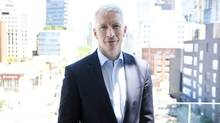 Anderson Cooper, poses in Toronto Thursday, June 2, 2011. Cooper is promoting his new talk show Anderson which is part of CTV's fall lineup. T (Darren Calabrese/The Canadian Press)