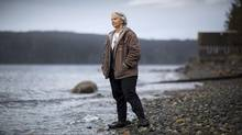 Alexandra Morton at her home on Sointula Island on April 16, 2012. (John Lehmann/The Globe and Mail)