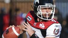 Calgary Stampeders' quarterback Drew Tate. THE CANADIAN PRESS/Graham Hughes (Graham Hughes/CP)