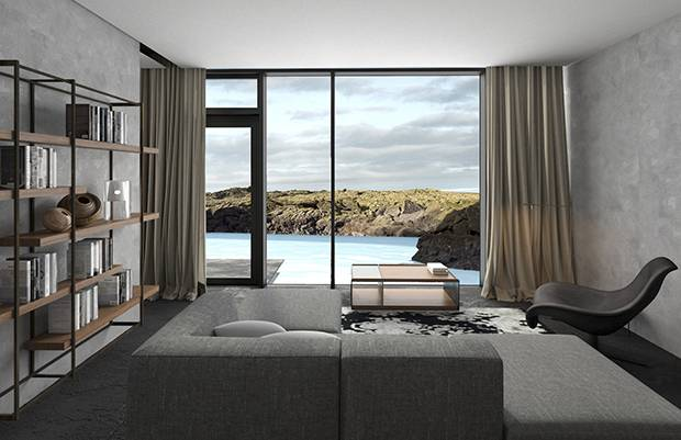Opens early 2018. Rates start at €1,500/night. For more information, visit www.retreat.bluelagoon.com.