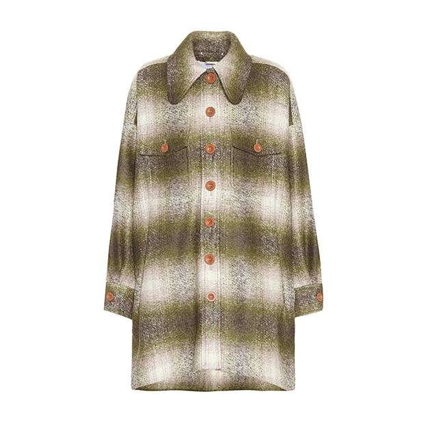 Chloé mohair-blend coat, €1,475 through www.mytheresa.com.