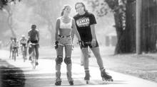 FILE PHOTO: June 17, 1994. In-line skating or roller blading on the boardwalk in the Beaches. (Fred Lum/The Globe and Mail)
