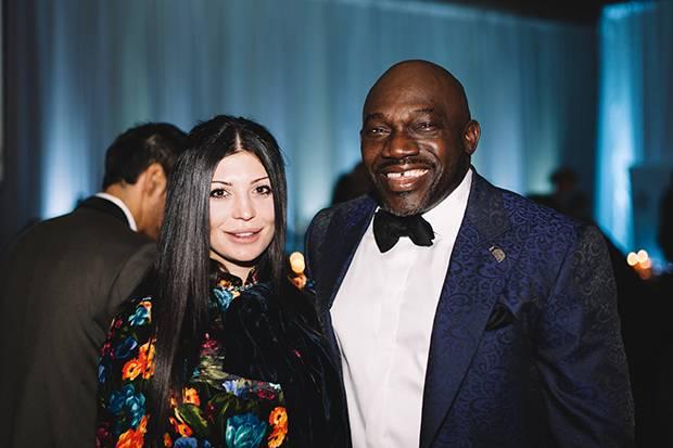 Nina Stamenova and David Bentil.