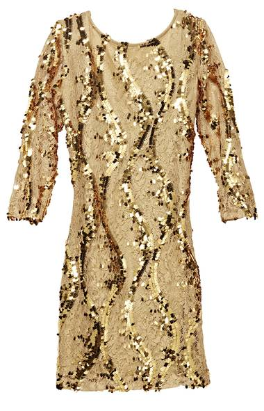 Winners sequin scoop-neck dress, $60 at Winners (www.winners.ca). (Handout)