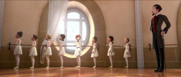 L'Atelier Animation's Ballerina cost about $30-million, a third of the per-minute rate at a big Hollywood studio, says animator director Ted Ty.