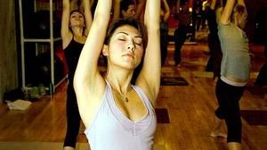 Paulina Li and classmates pursue passion and pleasure through Kama Aerobics in Toronto.