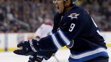 Winnipeg Jets' Evander Kane (file photo) (TREVOR HAGAN/THE CANADIAN PRESS)