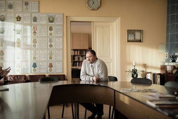 'My feelings toward NATO are very bad. They make enemies for themselves,' says Aleksej Vasiljev, the head of a local non-government organization that claims to represent the Russian community in Daugavpils.