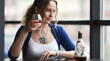 One expert suggets women are drinking more ?to cope with exhaustion, anxiety, isolation and the stress? or being moms and caregivers. (Getty Images/iStockphoto)