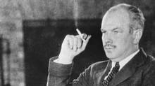 Norman Bethune in Montreal, 1928. (Library and Archives Canada)