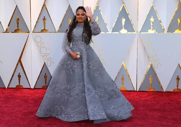 At last year's Oscars, director Ava DuVernay chose a dress designed by Mohammed Ashi, who hails from one of the muslim-majority countries targetted by the Trump administration for a travel ban last year.
