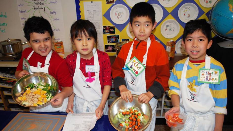 The recipe for raising healthy kids teach them to cook for Academy of oriental cuisine