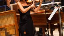 Violin powerhouse Mutter made the most of her lustrous tone. (Dale Wilcox)
