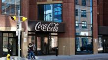 Coca-Cola increased its dividend by 10 per cent last February, and is expected to hike it again by 7 per cent next February. (Galit Rodan For The Globe and Mail)