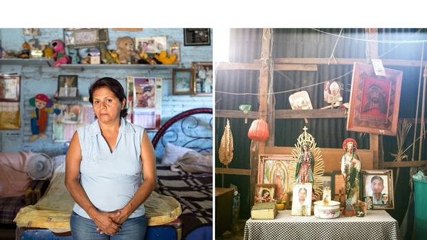 'I will not rest until I find him,' says Bertha Moreno Garcia, of her son, Jose Manuel Cruz Moreno, who was 22 when he went missing in 2009 from a small community on the outskirts of Iguala, after telling his mother that he was setting out to buy new shoes and then attend a party. 'It is like a cancer that is finishing me from the inside.'