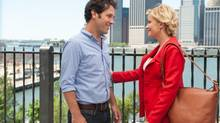 Paul Rudd and Amy Poehler are adept at self-satisfied comedy. (JoJo Whilden/eOne)