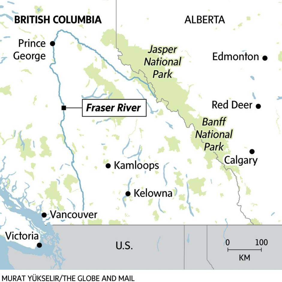 the story of the fraser river a u0027symbol of life u0027 that can also be