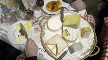 When in France, order the cheese plate. (ED ALCOCK/NYT)