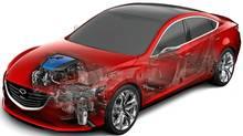 Mazda's i-ELOOP regenerative braking system. (Mazda/Mazda)