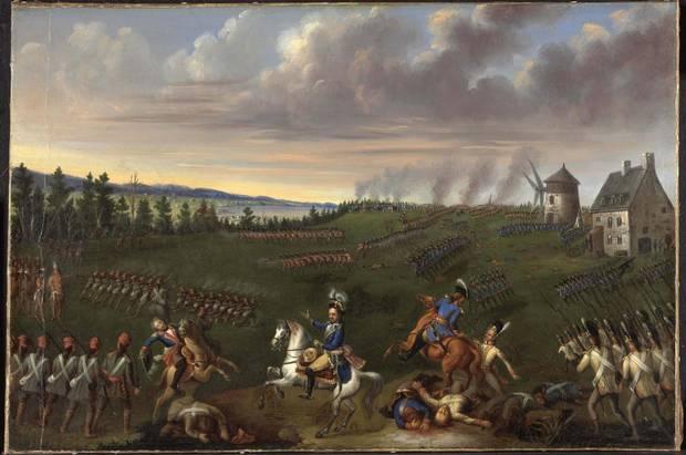 Joseph Légaré The Battle of Sainte-Foy, c. 1854 oil on canvas