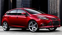2012 Ford Focus Titanium 5-door hatchback (Ford)