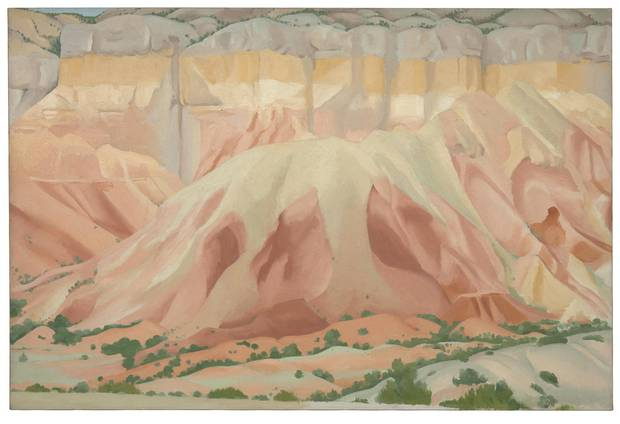 Red and Yellow Cliffs, 1940.