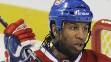 Globe and Mail guest columnist Georges Laraque. THE CANADIAN PRESS/Graham Hughe (Graham Hughe/The Canadian Press)
