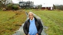Donald Oliver, the first black man appointed to the Senate, will retire to his Nova Scotia farm. (Paul Darrow For The Globe and Mail)