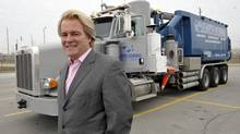 "Steve Hudson is pictured in front of a truck he financed in Toronto in 2011. Mr. Hudson's Element Financial Corp. is listed as a ""rookie stock of the year"" on Report on Business magazine's 2013 ranking of the top 1000 most profitable companies. (J. P. Moczulski for The Globe and Mail)"