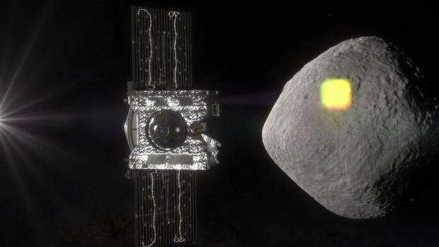 OSIRIS-REx will use a Canadian-made laser to scan the asteroid's surface.