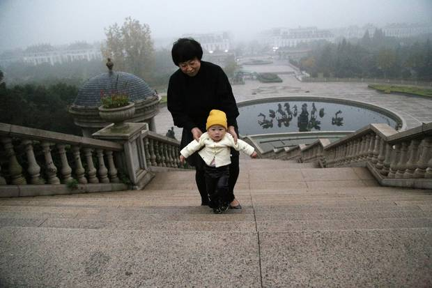 Tianducheng has seen an influx of new homeowners as the nearby city of Hangzhou prepares to build a new subway line.
